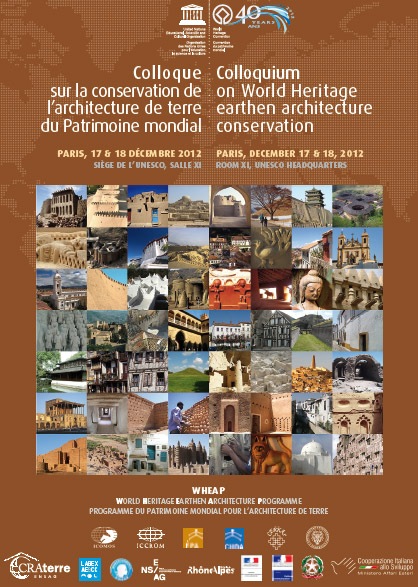 Colloque international sur la conservation de l'architecture de terre
