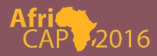 Programme AfriCAP2016:  lancement du site Internet