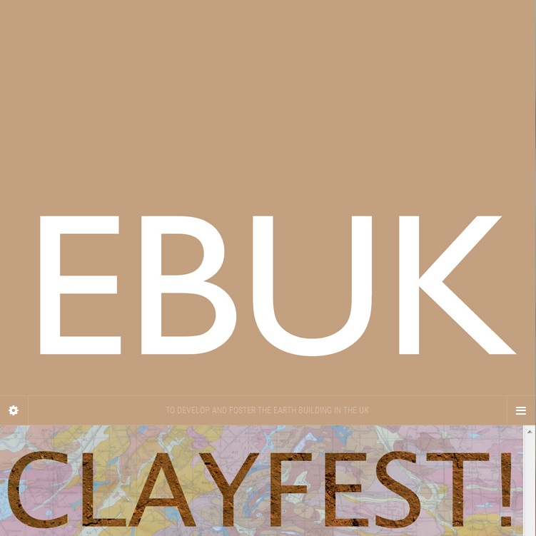Earth Building UK and Ireland conference and workshop week: CLAYFEST June 8th to 13th 2015