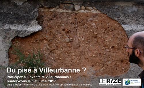 Du pisé à Villeurbanne? Participez à l'inventaire!