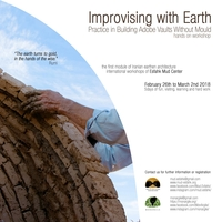 Improvising with earth: practice in building adobe vaults without mould