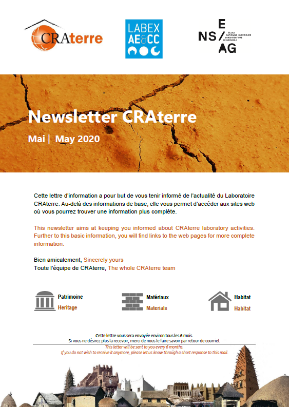 Newsletter Mai | May 2020