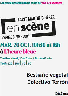 BESTIAIRE VÉGÉTAL – Colectivo Terrón (20 octobre 2020, Saint-Martin-d'Hères)