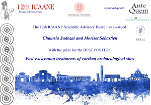 Prix du meilleur poster | 12th ICAANE