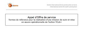 Appel d'Offre de service : mission de suivi et mise en oeuvre opérationnelle de l'action TCLA+