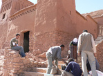 Conservation du Ksar d'Aït-Ben-Haddou