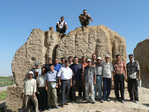Conservation of Ancient Merv archaeological site